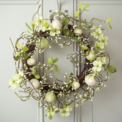 Easter Decorations Best Easter Wreaths To Buy Now