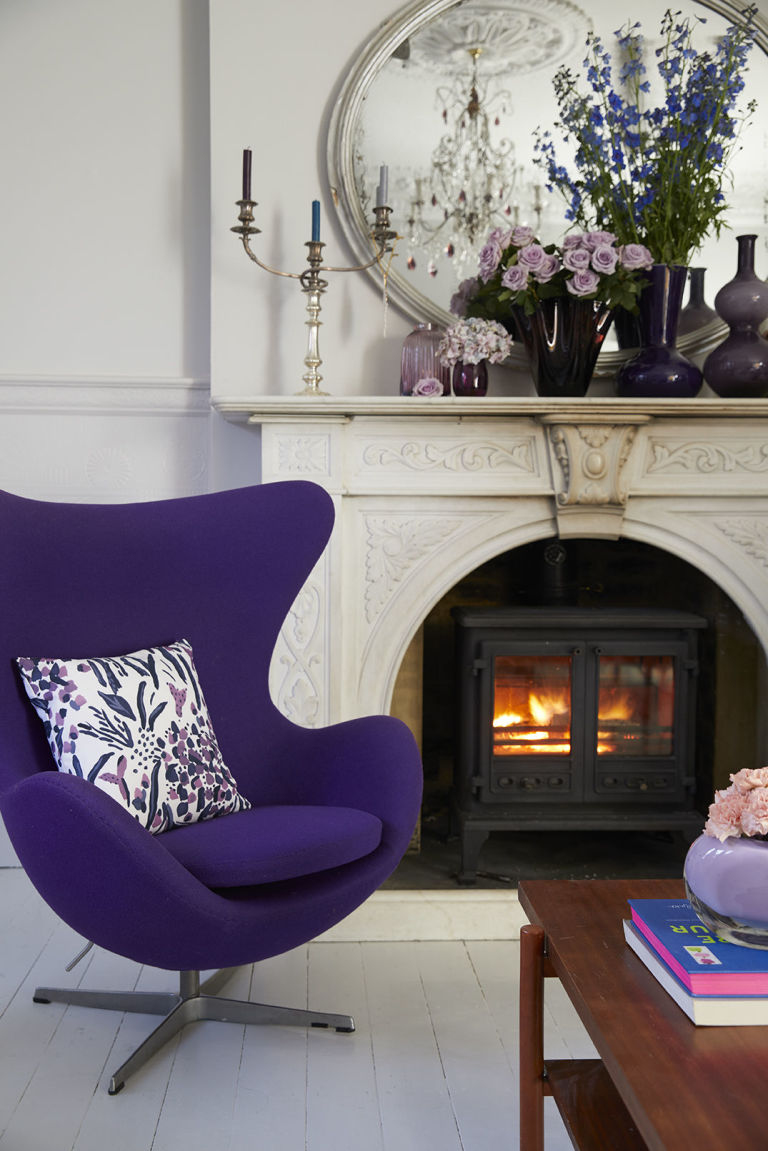 Hillarys and Sophie Robinson team up to style a home with Pantone's Ultra Violet