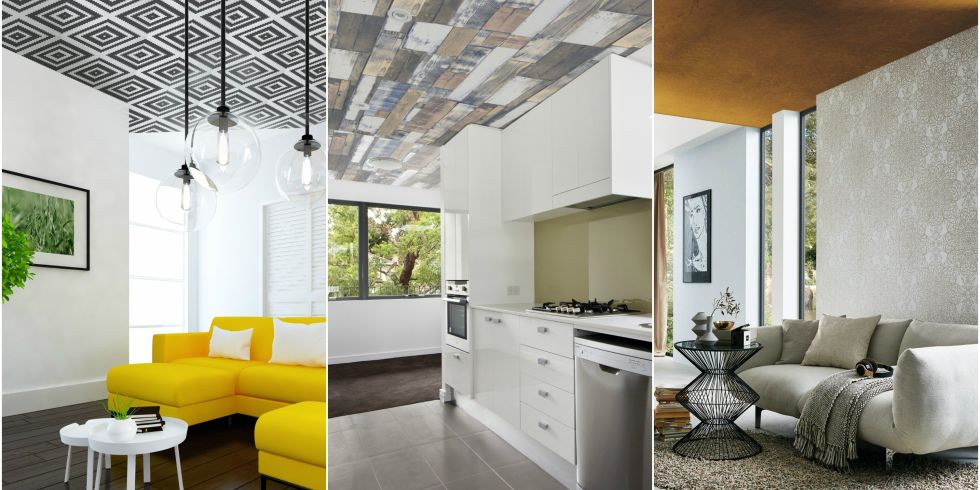 Creating Statement Wallpaper Ceilings - Wallpaper Design Ideas